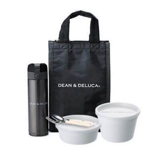 【オンラインストア限定】DEAN & DELUCA エブリデイランチバッグ ブラック