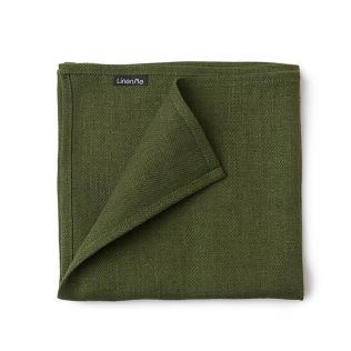 リネンミー ララシリーズ ナプキン42×42 グリーン