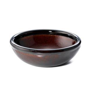 竜清窯 アメ釉 手造り小鉢