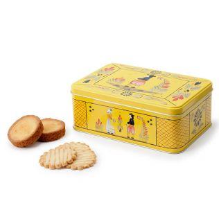 ル・ブルターニュ ブルターニュビスケット アンリオ缶