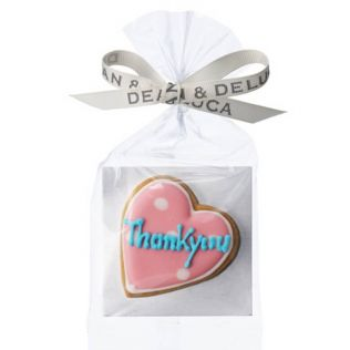(SALE)DEAN & DELUCA デコラティブクッキー サンキューメッセージ ハート【賞味期限2019年8月1日】