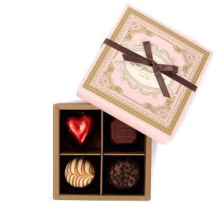 クプルブ チョコレートアソート 4粒入り