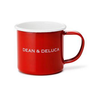 DEAN & DELUCA ホーローマグカップ レッド 180cc