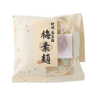 愛媛海産 紀州南高梅 梅素麺