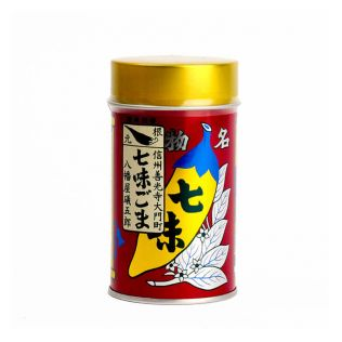 八幡屋礒五郎 七味胡麻缶