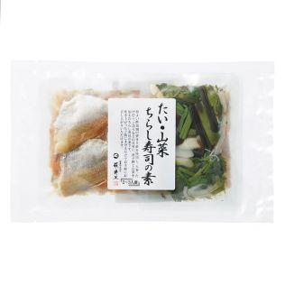 井上商店 ちらし寿司の素 鯛と山菜