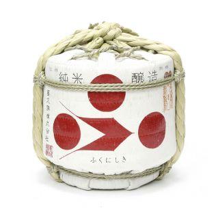 富久錦 純米ミニ豆樽