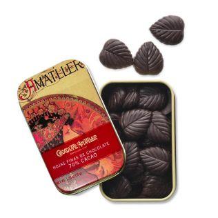 アマリエ リーフダークチョコレート70%カカオ