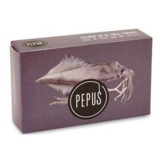 ペプス イカの墨煮