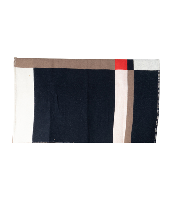 Lambs Wool Square Blanket / WBR