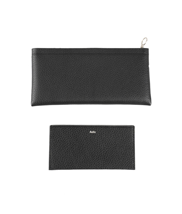 LONG WALLET BLACK / Aeta
