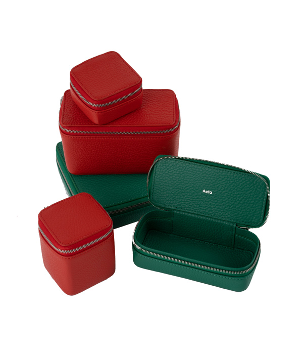 SMALL CONTAINER A <Red> / Aeta