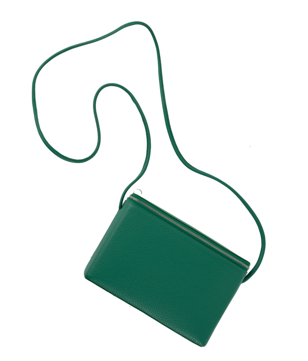 BOX SHOULDER M <Green> / Aeta