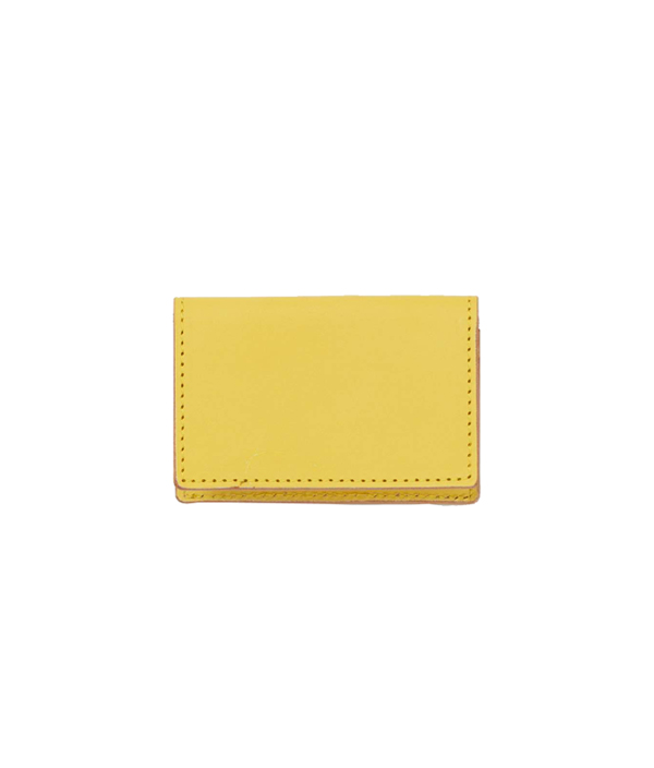 Folded card case <Yellow> / Hender Scheme(エンダースキーマ)
