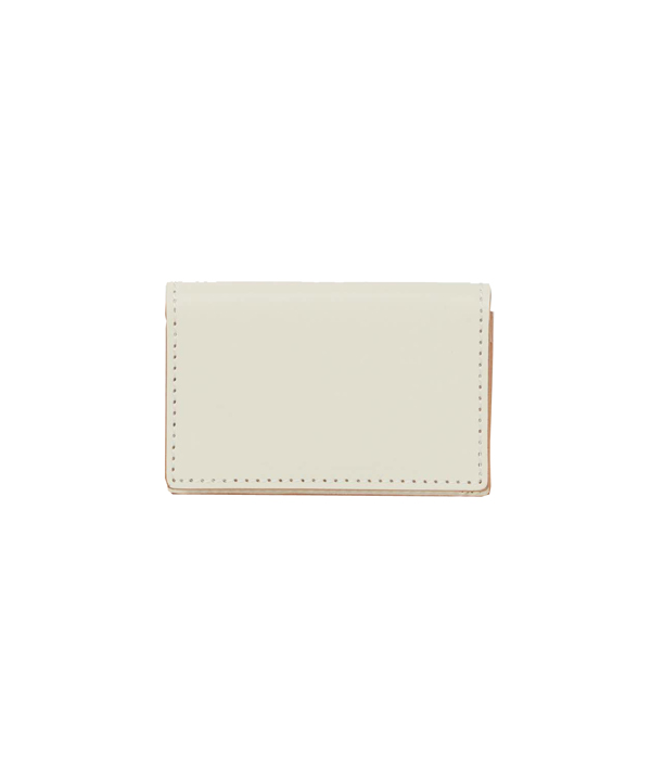 Folded card case <White> / Hender Scheme(エンダースキーマ)