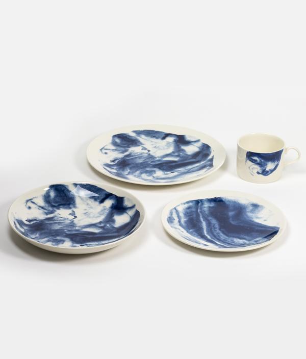 Indigo storm 8 plate