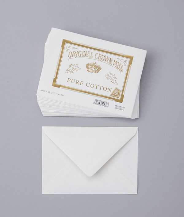 ENVELOPE  PURE COTTON