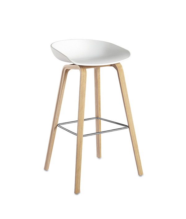 ABOUT A STOOL  HIGH/ホワイト