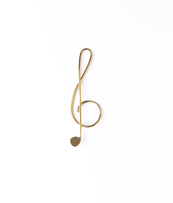 CI Paper Clip Musical CLEF 7cm