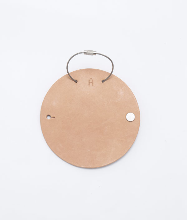 Circle Key Case <Natural> / Hender Scheme(エンダースキーマ)