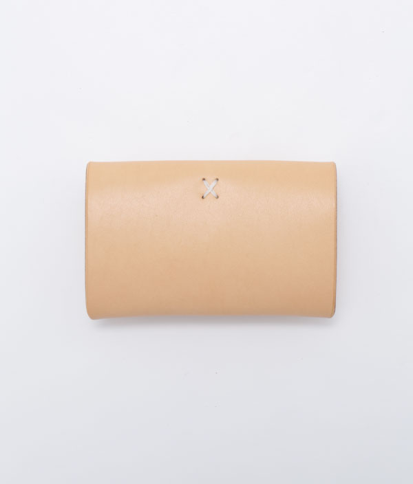 Hender Scheme  one piece card case/NATURAL