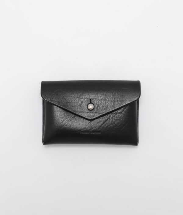 One piece card case <BLACK> / Hender Scheme(エンダースキーマ)