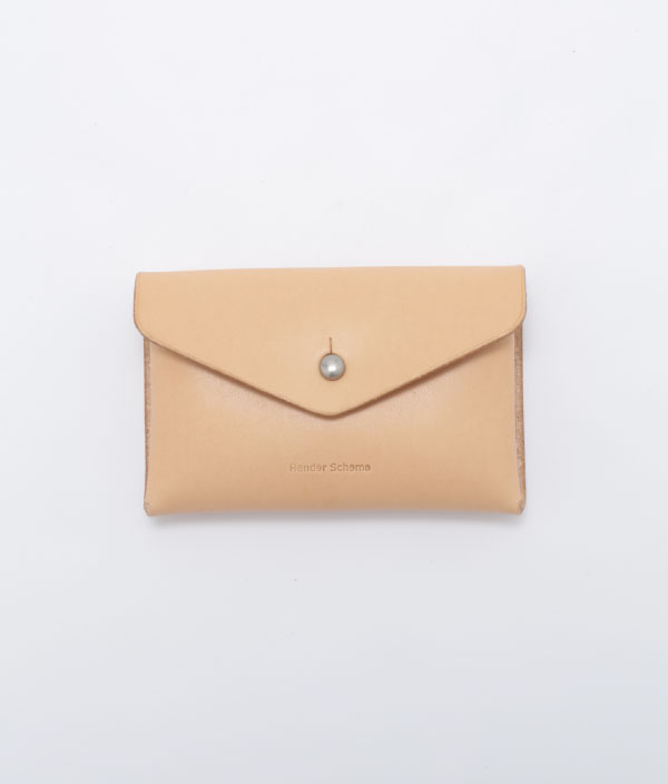 One Piece Card Case <Natural> / Hender Scheme(エンダースキーマ)