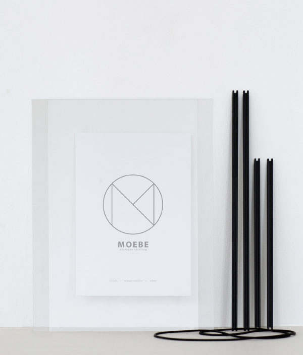 Frame <A4 Black> / MOEBE (ムーベ)