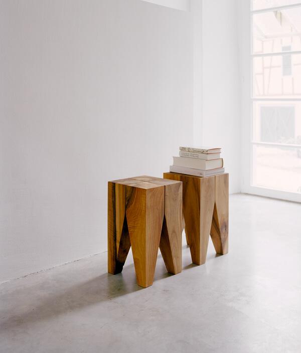 BACKENZAHN SIDE TABLE/オーク