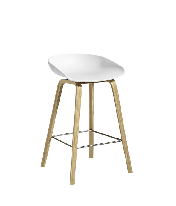 ABOUT A STOOL LOW/ホワイト