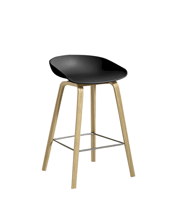 ABOUT A STOOL LOW/ブラック