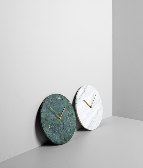 Marble Wall Clock <GREEN> / MENU(メニュー)