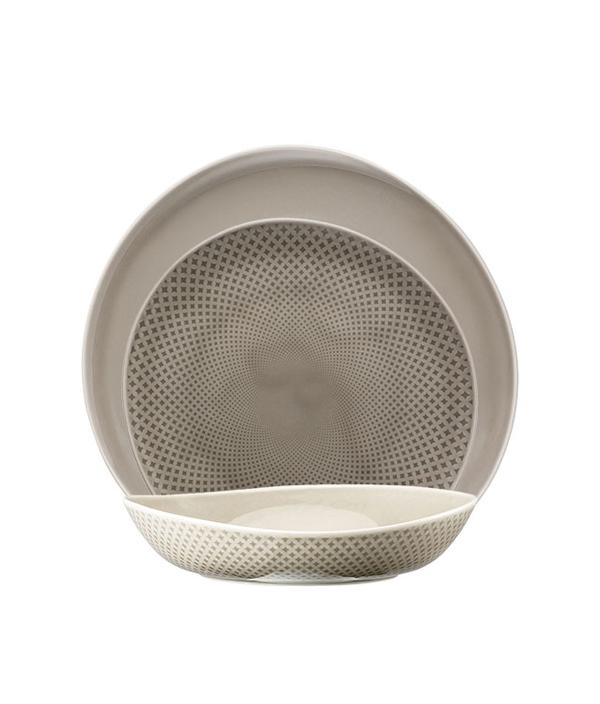 Junto Series Pearl Grey/Plate 22cm