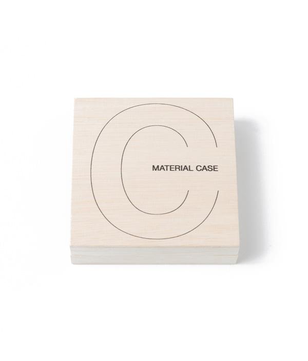 MATERIAL CASE <Coaster> / toumei (トウメイ)