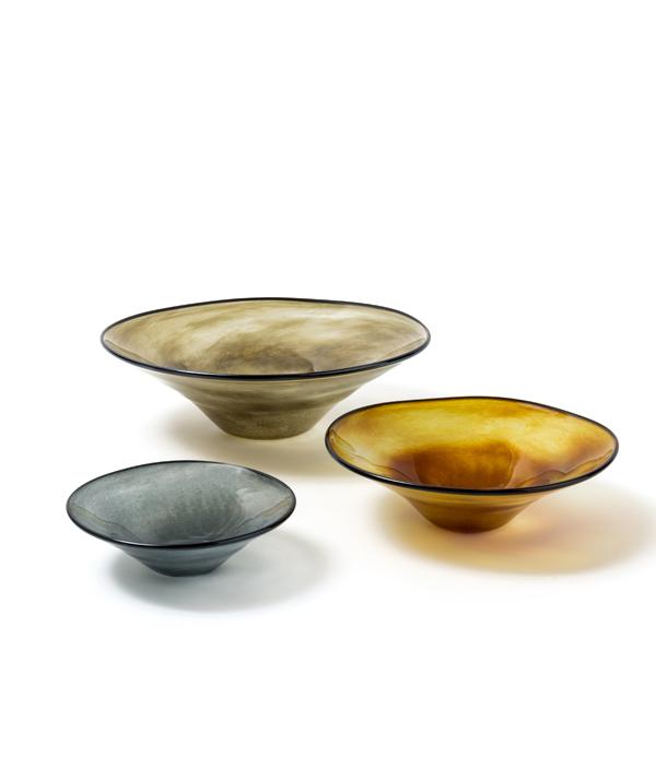 kasumi bowl / M / BROWN GREEN