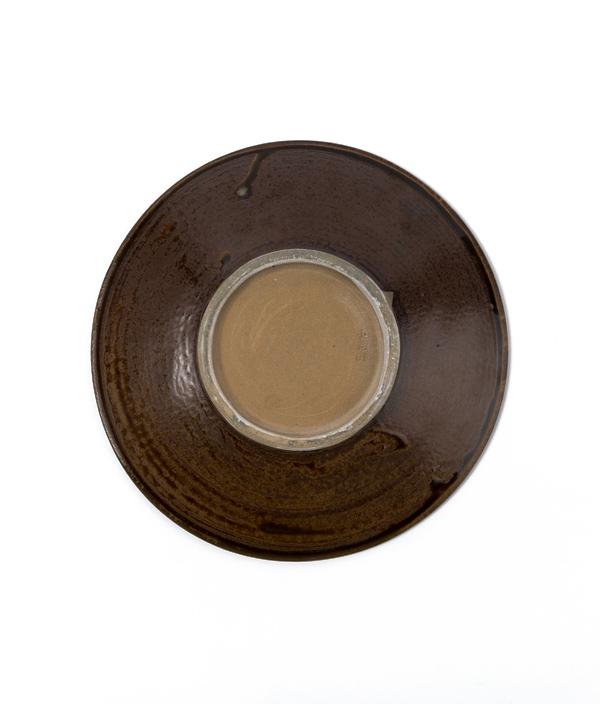 小鹿田焼 7寸皿