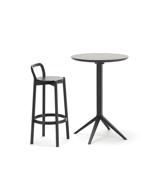 SCOUT BISTRO BAR TABLE/BLACK