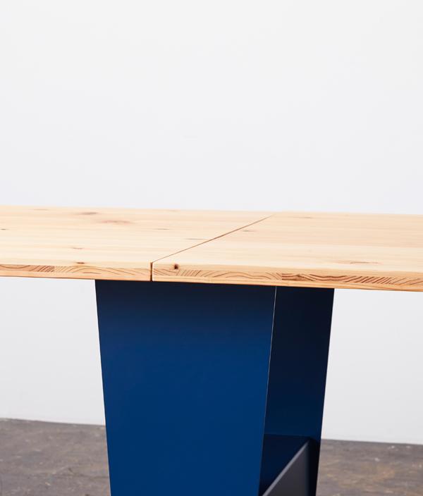 Takeshi テーブルトップ L/メラミンマットホワイト