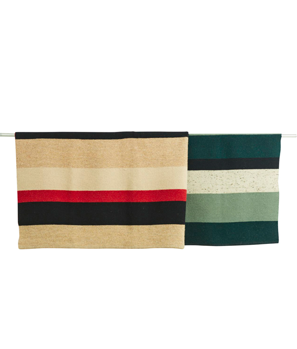 Double Face Blanket One Side Brushed  <BEIGE> / loomer (ルーマー)