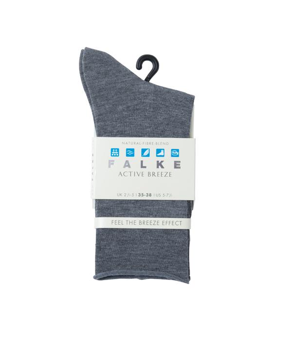 FALKE ACTIVE BREEZE ANKLET / WOMEN / GREY