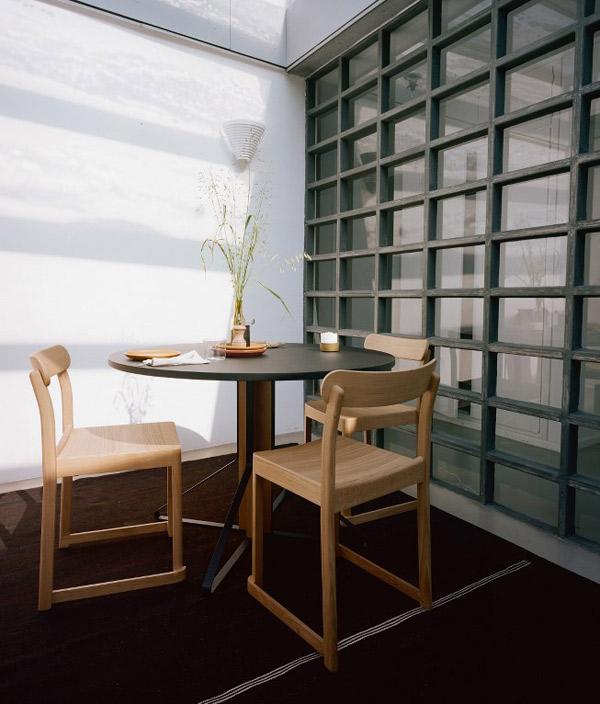 Atelier chair/ダークレッド