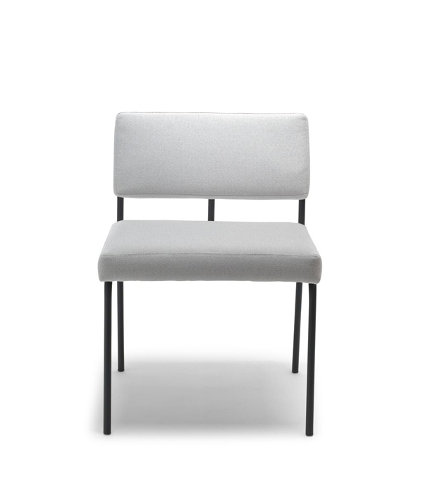MONDAY DINING CHAIR / Without Arm/MODE-black3.2