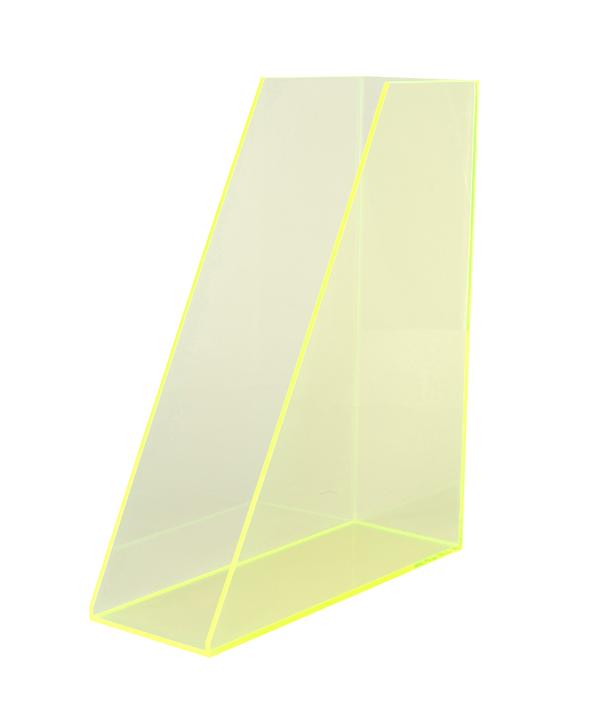 ORIGINAL ACRYLIC FILE BOX/NeonGreen