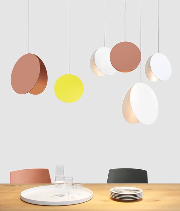 NORTH PENDANT LIGHT/S/コッパ―