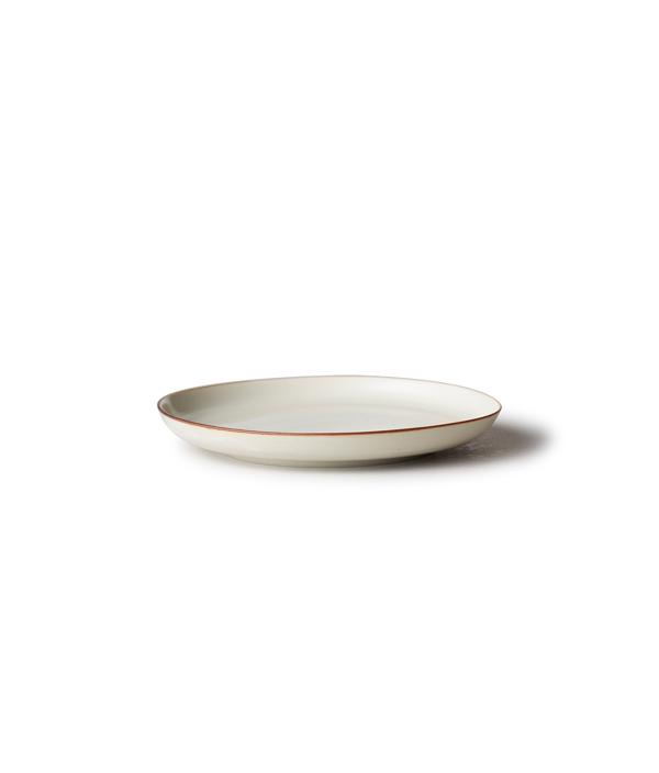 CI 白磁杓掛け 3寸皿