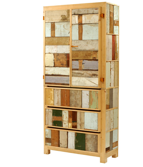 SCRAPWOOD CUPBOARD