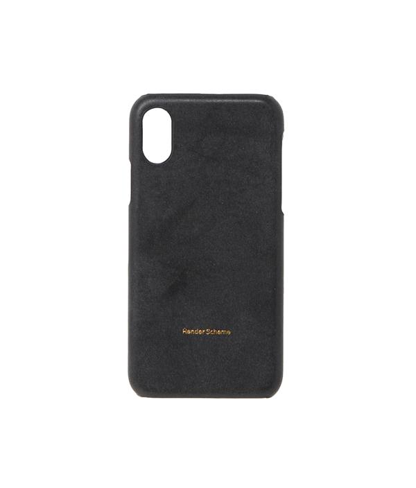 iphone case X <black> / Hender Scheme(エンダースキーマ)