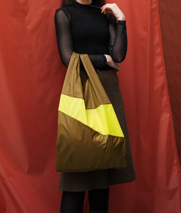 Shopping Bag L /Black & Concept /SUSAN BIJL