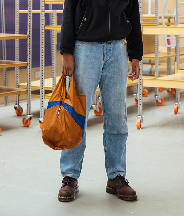 Shopping Bag S /Try & Flu Yellow /SUSAN BIJL