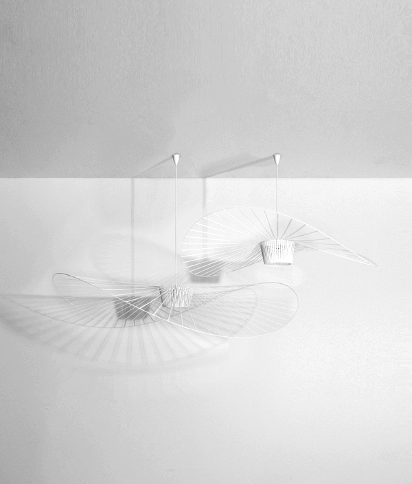 Vertigo Pendant Light  White < S > / Petite Friture